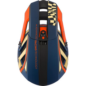 O'Neal Blade Polyacrylite Casco Delta, azul/naranja